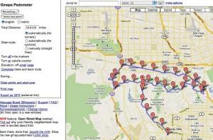 Gmaps my route screenshot