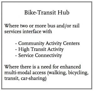 Metro transit hub presentation description