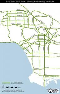 Bike Backbone Network map