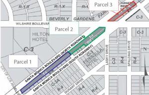 Parcels that Comprise the proposed Gateway development