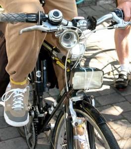Kevin Burton's bike got bling!