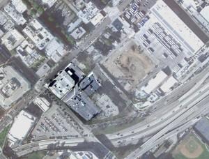 Sears Santa Monica location map
