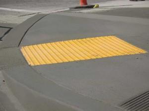 curb cut