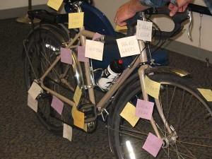 Confident city cycling: bike exhibit