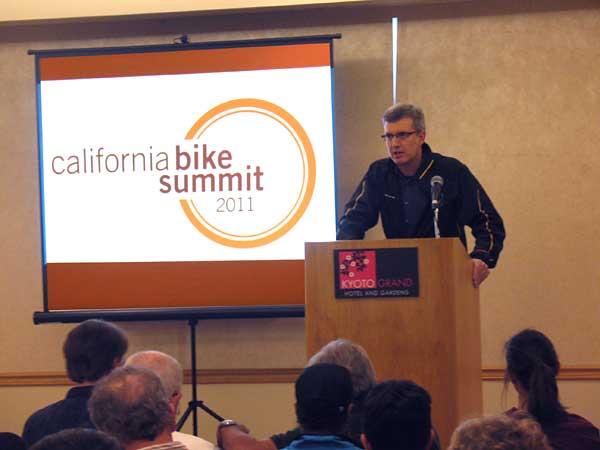 Bike Summit 2011 Chris Morfas