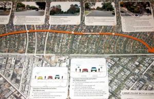 Carmelita Avenue study via Fehr & Peers