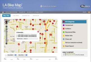 Bikeside bike map overview
