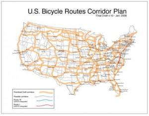 USBRS corridor map