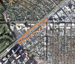 Western Gateway aerial view