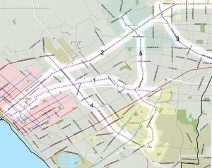 COG gap closure map