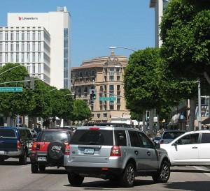 South Beverly traffic scrum