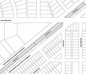 Gateway area parcel map
