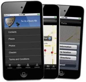 Visit Beverly Hills iPhone App