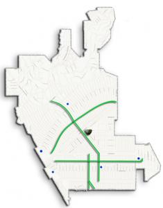 Bike Route Pilot map mine