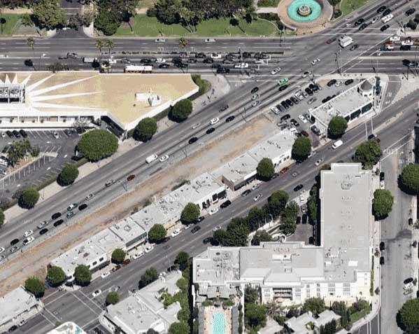 Gateway site aerial view