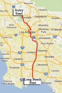 River Ride 2012 70-mile core route map