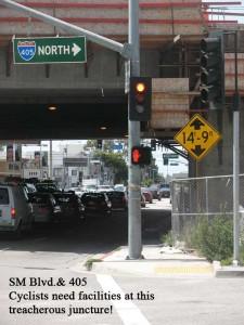 Santa Monice Blvd. & 405 fwy