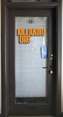Kill Radio's door