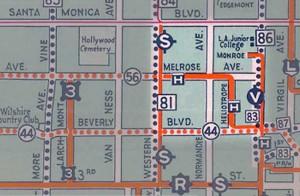 Hel-Mel detail via LARY map from 1933