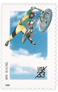 Extreme Sports: BMX Biking stamp