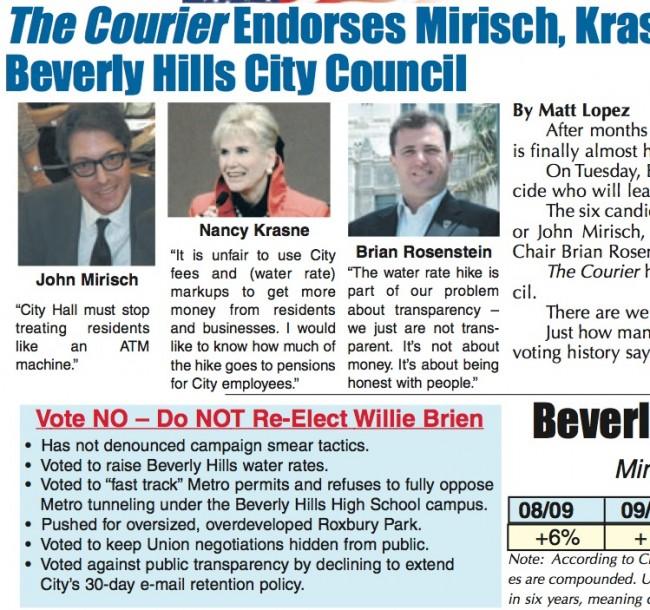 Courier anti-Brien callout box