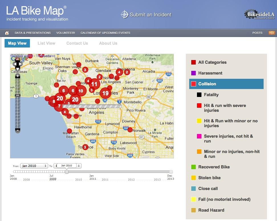 Bikeside bikemap screenshot