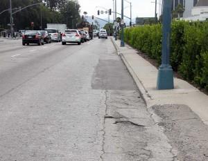 Santa Monica Boulevard conditions
