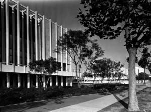 Lacma sidewalk view 1965