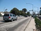 Santa Monica Boulevard looking east to Wilshire