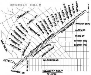 Santa Monica blvd project thumbnail map