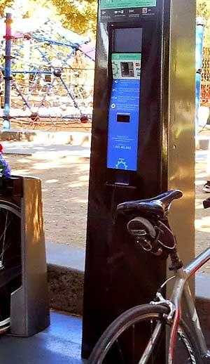 Bay Area Bike Share kiosk