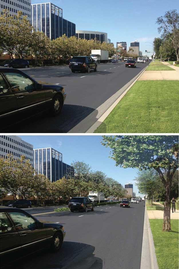 12 foot versus 16 foot lanes