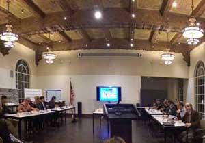 Blue-ribbon committee meeting