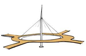 Hovenring illustration
