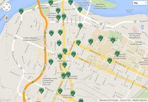bike chattanooga bike share map