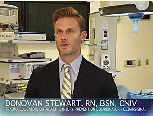 dangerstoppers video nurse Stewart