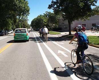 Boulder buffered lane example