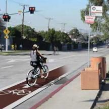 Santa Monica Boulevard visualization