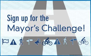 US DOT Mayor's Challenge logo