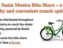 Santa Monice bike-share system promo