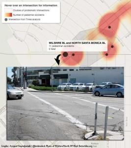 LA-Times-ped-injury-heatmap-Wilshire-SM