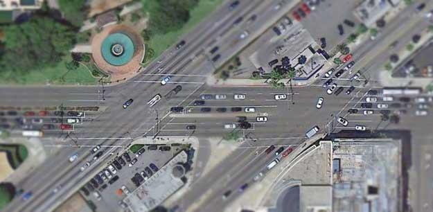 Wilshire-Santa Monica intersections unimproved