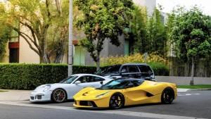 Qatari scofflaw and his Ferrari