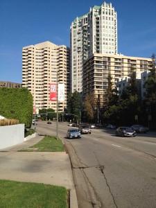 Wilshire Boulevard in Westwood