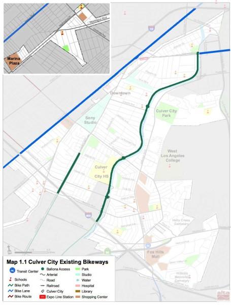 Culver city bike map (2010)