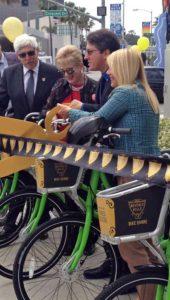 Bikeshare ribbon cutting 2016