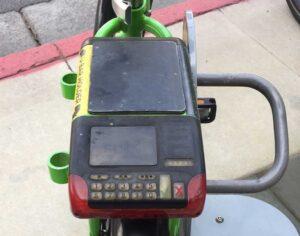 Beverly Hills bike share old equipment