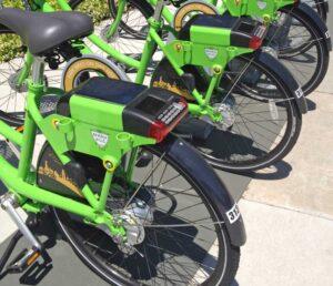 Beverly Hills bike share branding